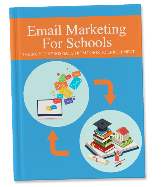 Email Marketing For Schools Book Cover