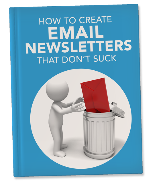 How To create emails that don't suck book template