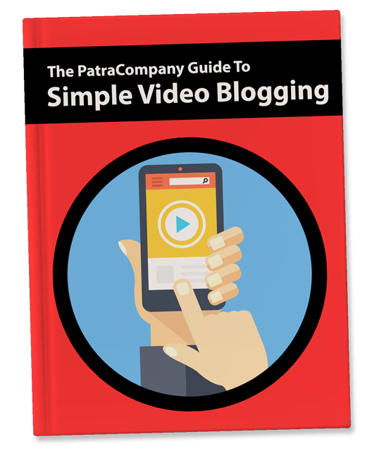 The PatraCompany Simple Video Blogging Book Template