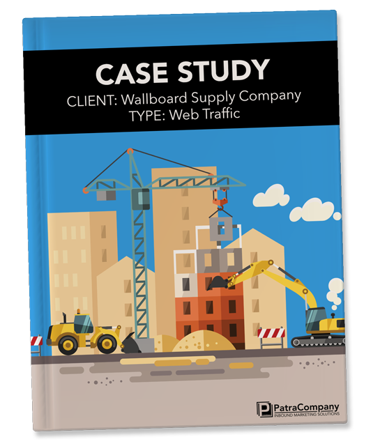 Wallboard Supply Company Web Traffic and Lead Generation Case Study